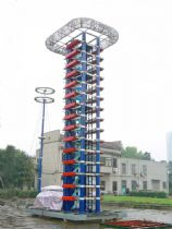 3000kV IVG for Wuhan High Voltage Research Institute