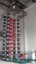 3600kV 270kJ  Impulse Voltage Test System upgraded for Anhui Power Research Institute