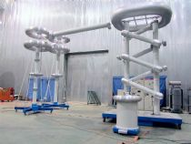 800kV 20mA DC High Voltage Test System for HVTS company in France