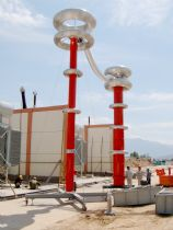 Variable Frequency Resonant On-site Test on 750kV GIS for Hyosung (China)