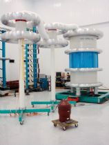350kV 1050kVA AC Resonant Test System for SIEMENS MANUFACTURING SA