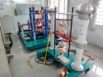 300kV 15kJ Impulse VoltageTest System for SONA COLLEGE OF TECHNOLOGY in India