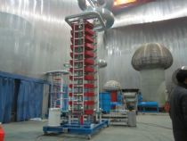1200kV 120kJ Impulse Voltage Test System for ÖZGÜNEY ELEKTRİK LTD. CO. in Turkey