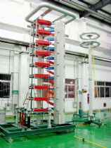 1350KV 110KJ Impulse Voltage Test System for Wuliangye Group
