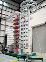 1600KV 120kJ Impulse Voltage Test System for Surplec INC. in Canada