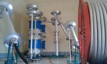 1400kV 49000KVA Resonant Test System for Hebei New Bao Feng Cables