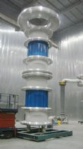 800kV 2400kVA AC Resonant test system for Wuxi Xirong Power Electric Apparatus Co