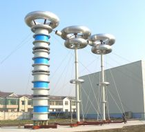 3000 kVA 1000kV Series Resonant Test System for Shanghai Zonfa Yipa Extra-high Tension Appliance Co