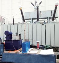 Onsite partial discharge test for 220kV Power Transformer