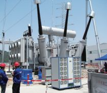 Onsite partial discharge test for 500kV Power Transformer